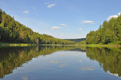 The Chusovaya River Royalty Free Stock Image