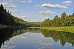 The Chusovaya River Stock Images
