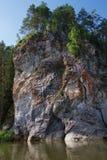 chusovayaflod Royaltyfria Bilder