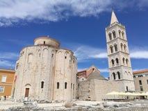 Chutch St. Donat zadar Kroatien stockfotografie