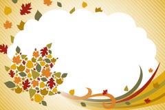 Chute Autumn Background Illustration illustration libre de droits
