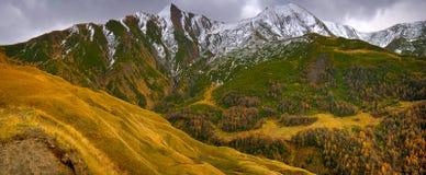 Chute dans les montagnes Photo libre de droits