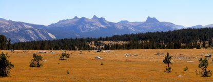 Chute dans Yosemite Photos libres de droits