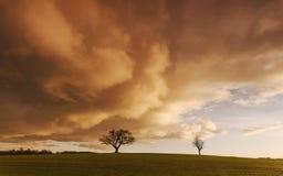 Chute de ciel Photographie stock libre de droits