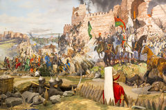 Chute de Constantinople Image libre de droits