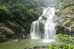 Chute de l'eau de Krung ching image libre de droits