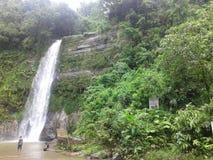 chute de l'eau de kundo de madhub Photos stock