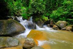 Chute de l'eau de la Thaïlande Image libre de droits