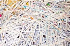 Chute de papier Photo libre de droits