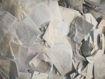 Chute de papier Image stock