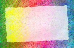 Chute de papier déchirée Photographie stock libre de droits