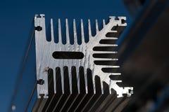 Chute en aluminium pour la réutilisation Photos libres de droits
