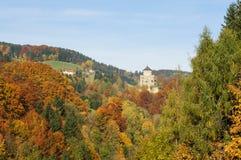 Chute en Autriche Image libre de droits