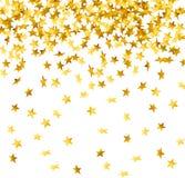 Chute vers le bas confettis Images libres de droits