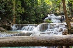 Chutes de l'eau de nature Photographie stock