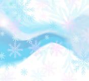 Chutes de neige Photo stock