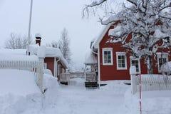Chutes de neige record en janvier image stock