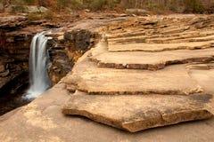 Chutes de roche de puce Photographie stock libre de droits