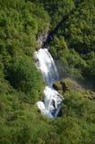Chutes de Sognefjord Images libres de droits