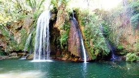 Chutes du Grand Baou - Le Val - la Francia fotografie stock libere da diritti