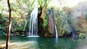 Chutes du Grand Baou - Le Val - la Francia fotografia stock