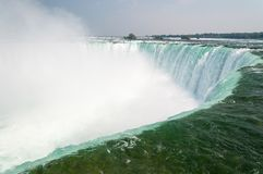 Chutes du Niagara en fer à cheval canadiennes photo libre de droits