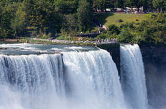 Chutes du Niagara, Etats-Unis Photo libre de droits