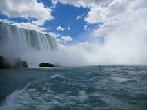 Chutes du Niagara, fer à cheval Images stock