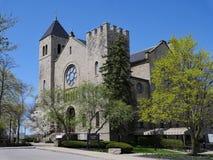 CHUTES DU NIAGARA, NY - chapelle d'université de Niagara photo libre de droits