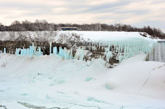 Chutes du Niagara, Ontario, Canada - 9 mars 2015 Photo libre de droits
