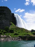 Chutes du Niagara, profil Photo stock