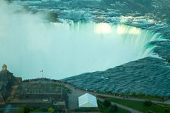 Chutes en fer à cheval, Niagara Images libres de droits