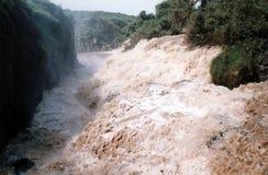Chutes inondées Photographie stock