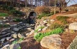 Chutes parc, Greenville la Caroline du Sud Photographie stock libre de droits