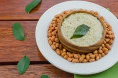 Chutney d'arachide image libre de droits