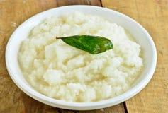 Chutney de noix de coco d'Indain photos stock