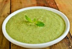 Chutney de vert d'Indain image stock