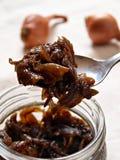 Chutney della cipolla Fotografia Stock