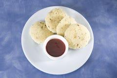 Chutney & Idli. South Indian Dish Stock Image