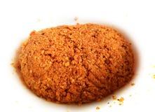 Chutney rosso della noce di cocco immagini stock