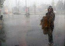 A chuva Fotografia de Stock Royalty Free