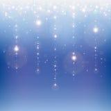 Chuva da estrela ilustração stock