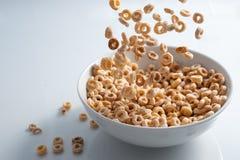 Chuva de Cheerios imagem de stock royalty free