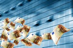 Chuva do dinheiro Imagem de Stock