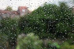 Chuva do verão Foto de Stock