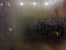 Chuva em janelas Fotos de Stock