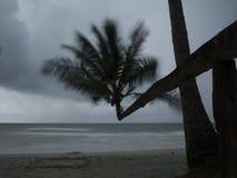 A chuva está vindo Foto de Stock