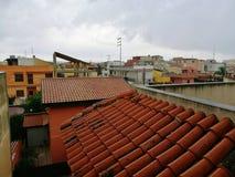 A chuva está vindo Imagem de Stock