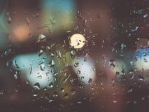 A chuva fora Fotos de Stock Royalty Free