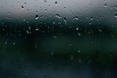 Chuva, gotas, janela, água, fundo, textura, paz imagens de stock royalty free